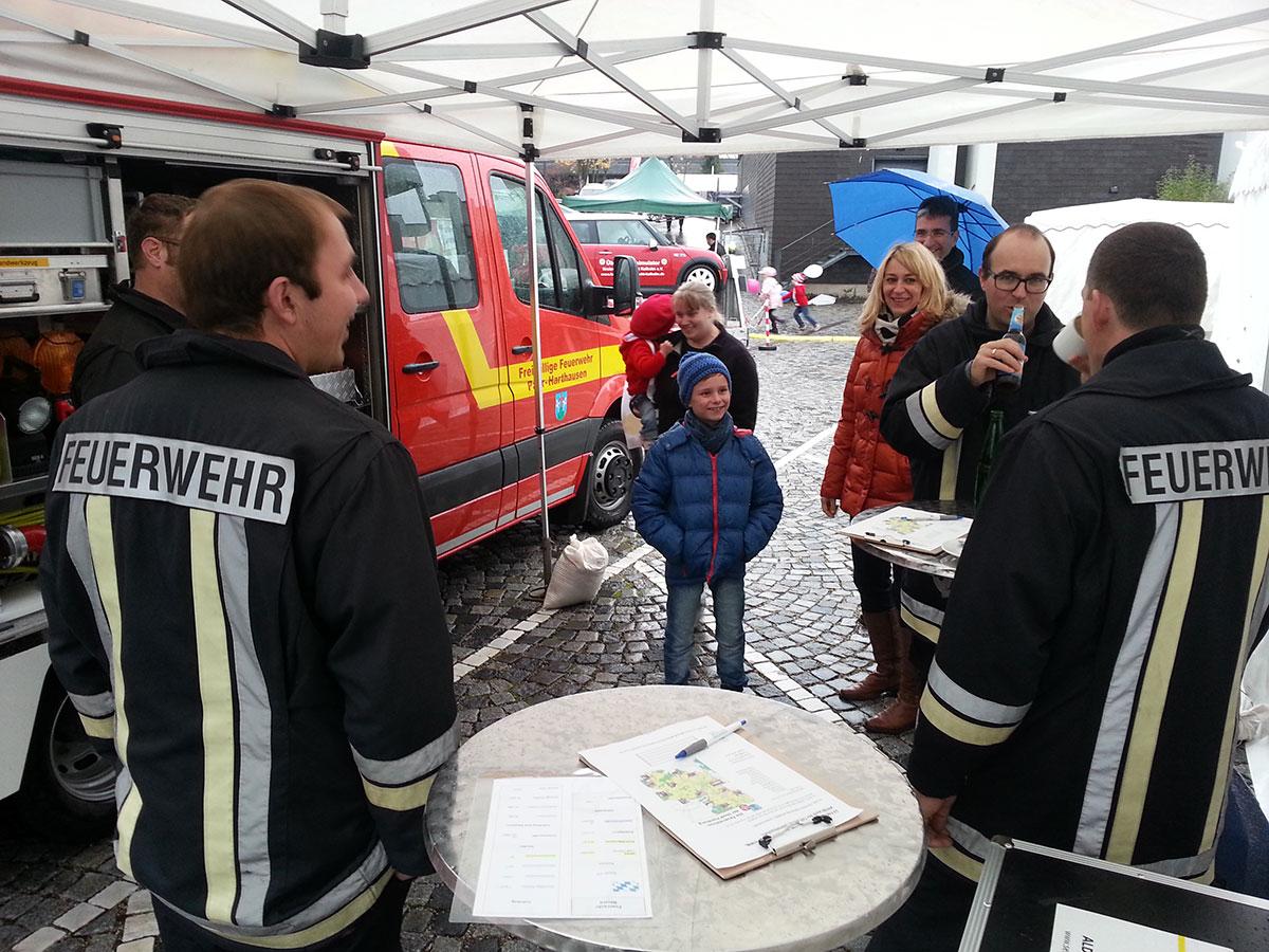 Feuerwehr Paar-Harthausen auf der Infoschau