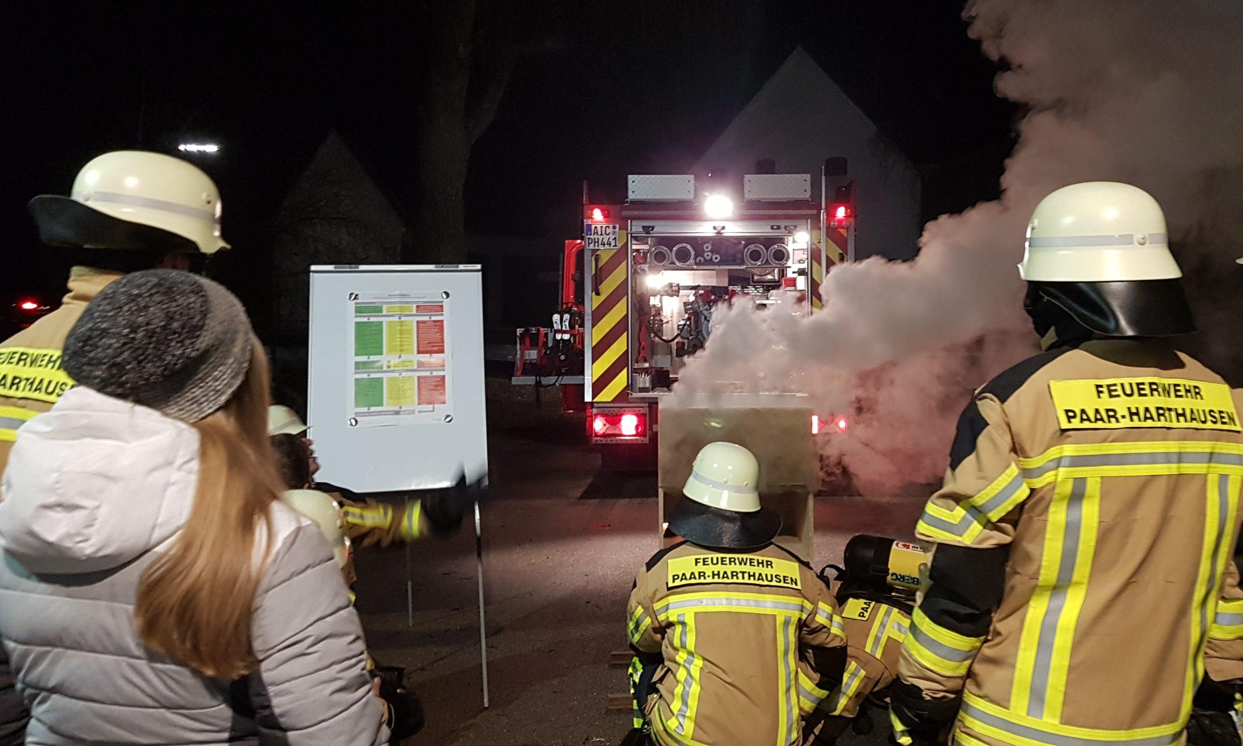 Simulation Brandraum Übung Atemschutz (3)